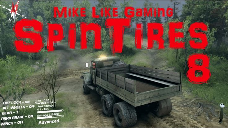The long hazardous trip to the objective in this episode of my playthrough of SpinTires: Volcano Map. Will I get there without having to reinstall the game after another setback?