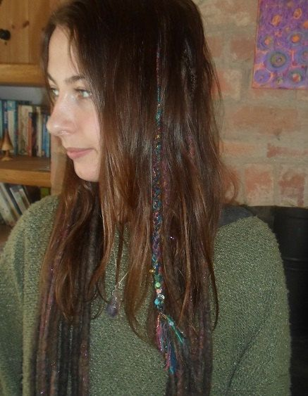 ONE Single Ended Braided Dreadlock Clip In Braid by tinkertailoruk