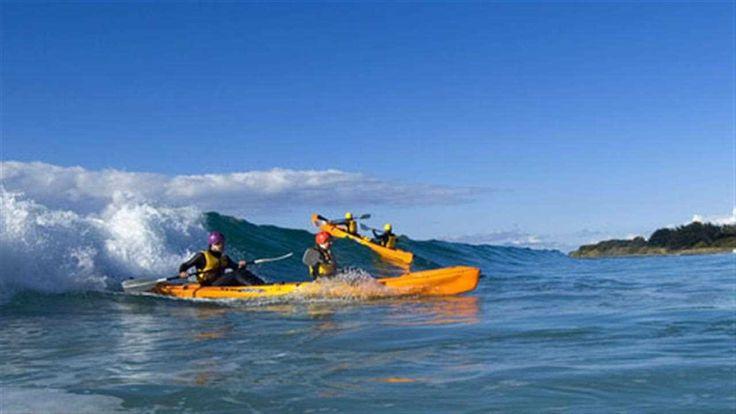 Kayaking, Apollo Bay, Great Ocean Road, Victoria, Australia