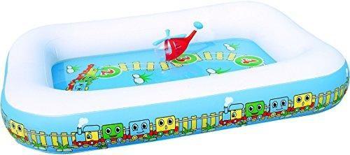 Oferta: 22€ Dto: -7%. Comprar Ofertas de Color Baby Piscina Tren Con Actividades 200X150X30 Cm - 225L barato. ¡Mira las ofertas!
