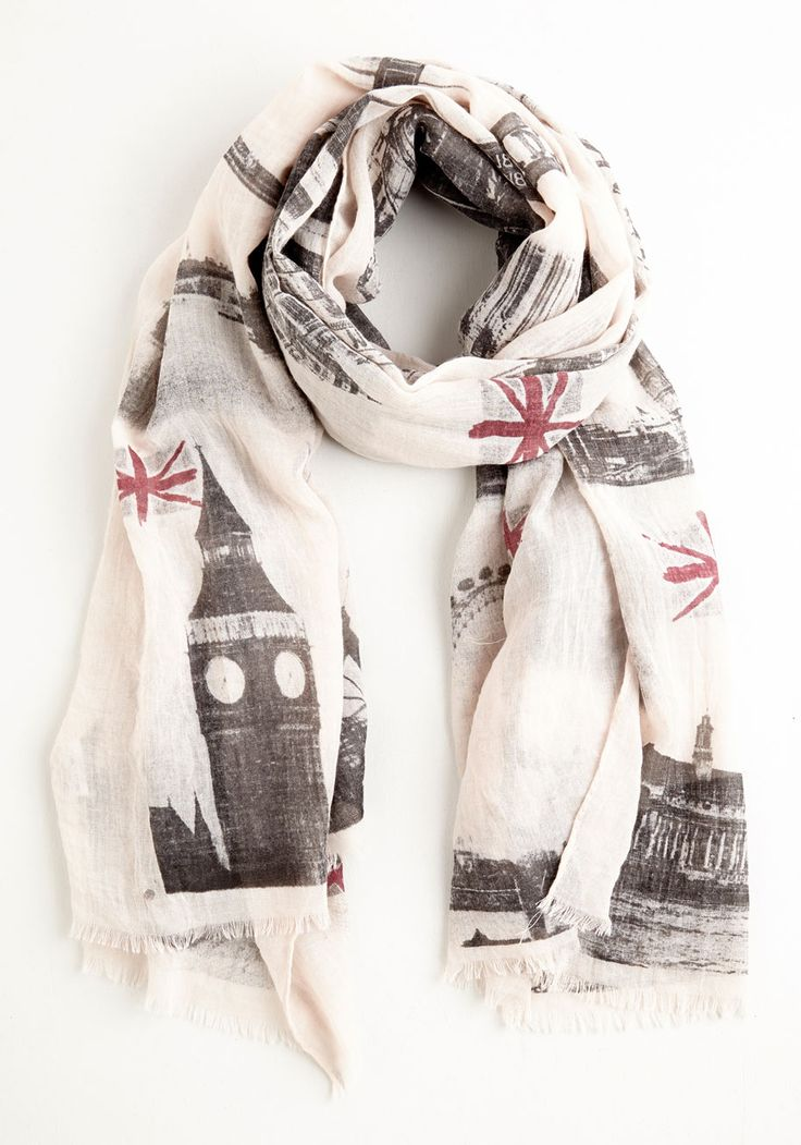 Sale - Anglophile Style Scarf