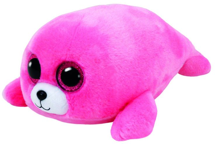 Pierre the Pink Seal - TY Beanie Boo