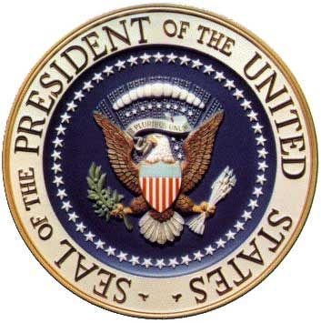 This is the Presidential Seal. It will be put down in the Oval Office to be used as the mat that currently sits there