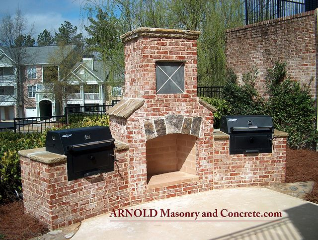 brick fireplace outdoor living patio luxury outdoor kitchen luxury outdoor kitchen #luxury #outdoor_kitchen