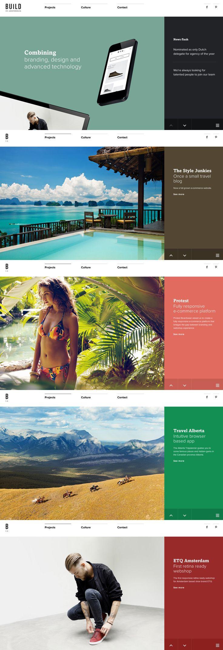 Cool Web Design, BUILD IN AMSTERDAM. #webdesign #webdevelopment [http://www.pinterest.com/alfredchong/]