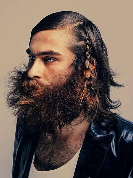 Braided Beard In Harajuku