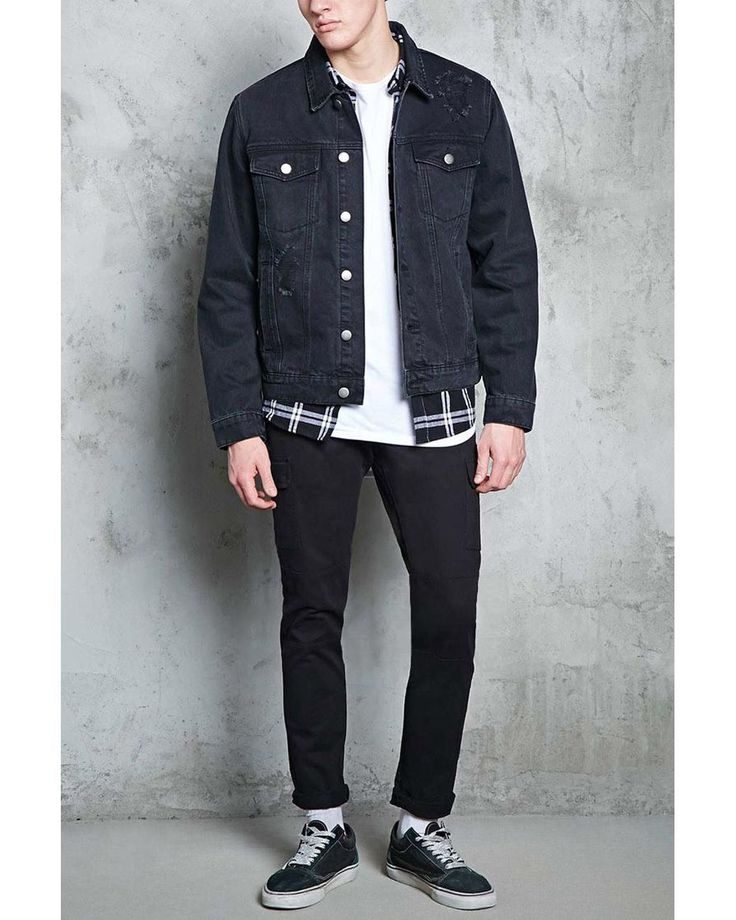 Buy Forever 21 Men's Blue Korean Flag Patch Denim Jacket, starting at $36. Similar products also available. SALE now on!