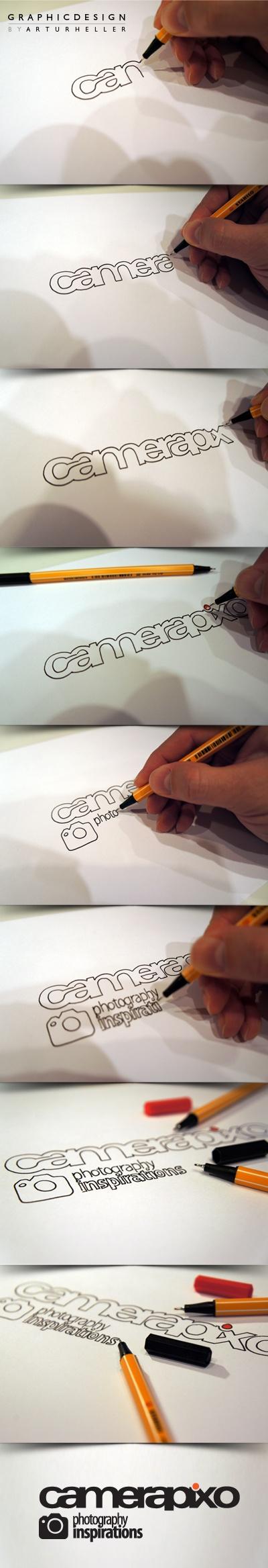 Camerapixo logo design...