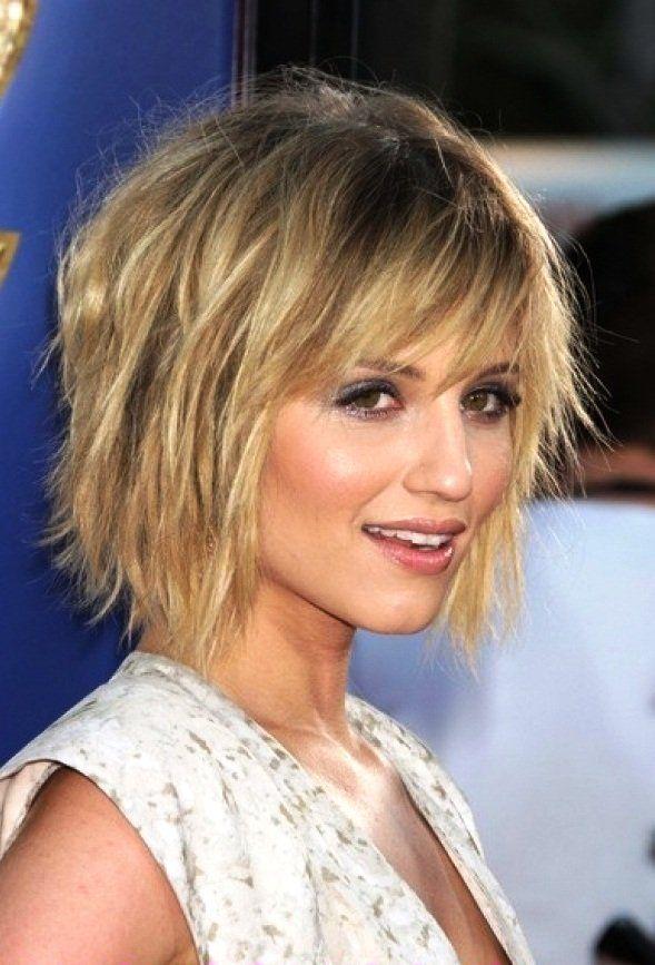Short haircuts for women around 50