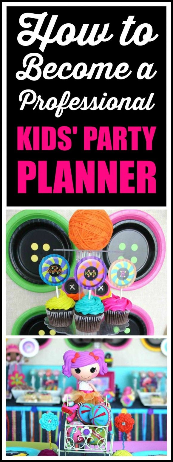 If you ever dreamed of becoming a kids' party planner, you need to check out this post. You will learn how to make money at party planning and there's even an ebook giveaway. Take a look... | CatchMyParty.com