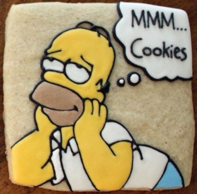 19 Best Images About Simpsons Cookies On Pinterest Tvs
