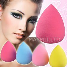 Pro Beauty Makeup Sponge Blender Flawless Smooth Shaped WaterDrop Puff Cute I