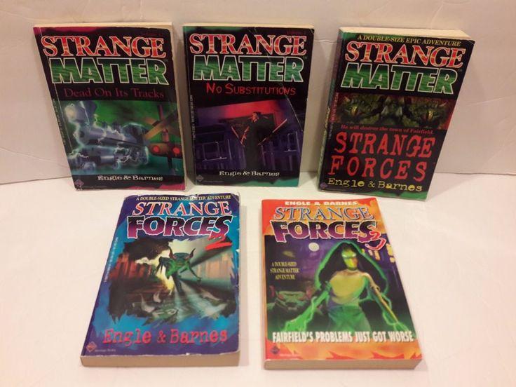 5 Strange Matter Strange Forces Series Book Lot Free shipping