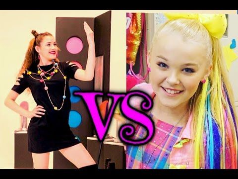 JoJo Siwa - {BOOMERANG} VS Haschak Sisters - {Pretty Girls}