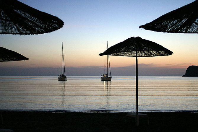 Galissas Beach, Syros