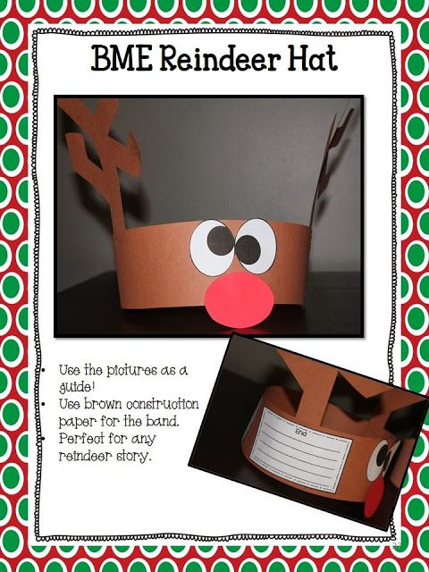 BME Reindeer Hat - Perfect for any story!