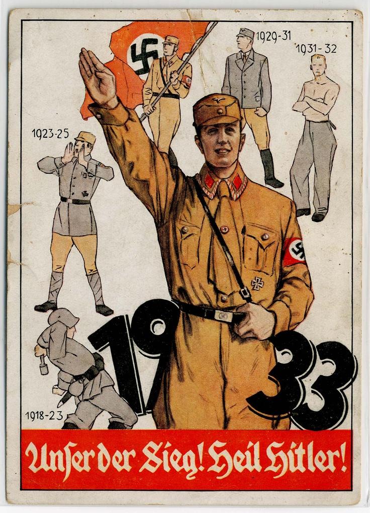 """1933 Unser der SIEG! HEIL HITLER!"""""""