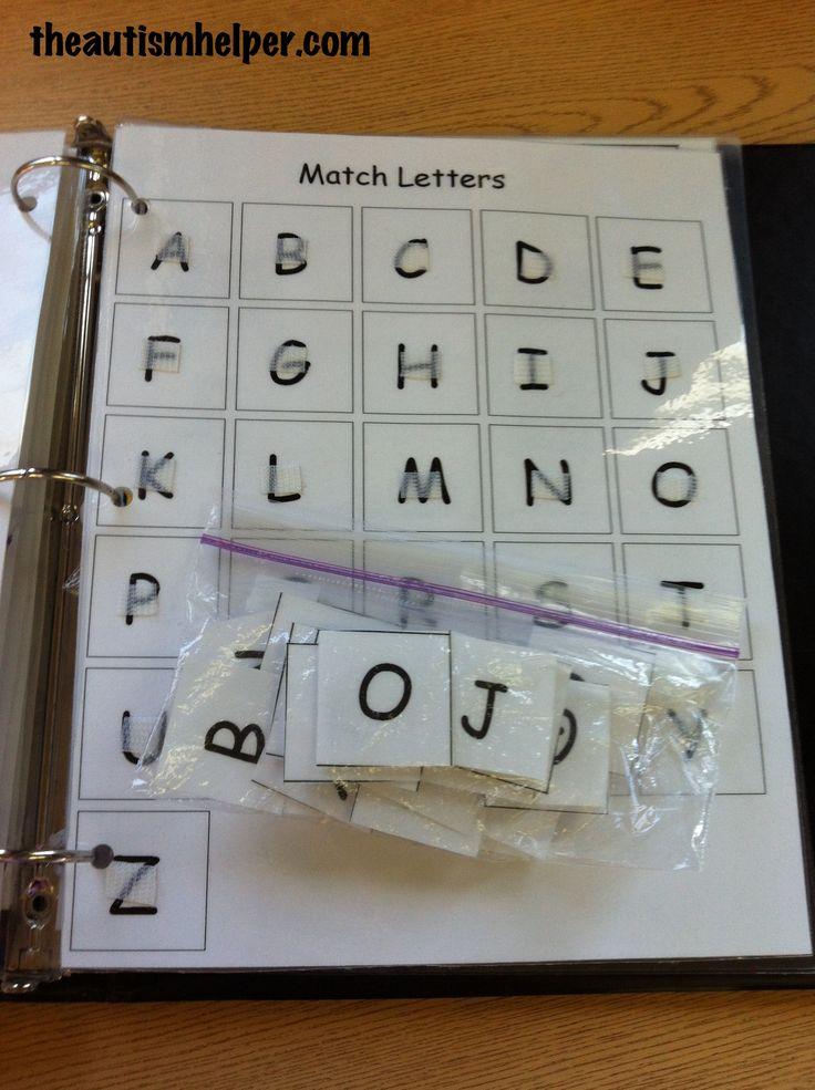 The Autism Helper - Work Task