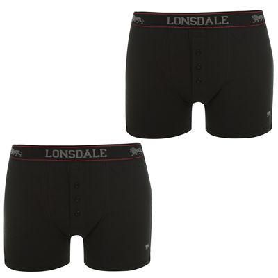 Lonsdale | Lonsdale 2 Pack Boxers Mens | Mens Underwear