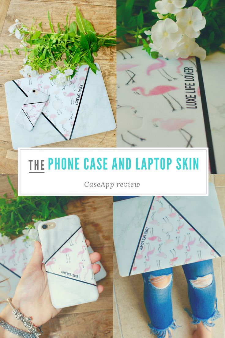 A phone case and a laptop skin is something that is a stylish item these days. I created mine on CaseApp, you can read the review on my blog now!!