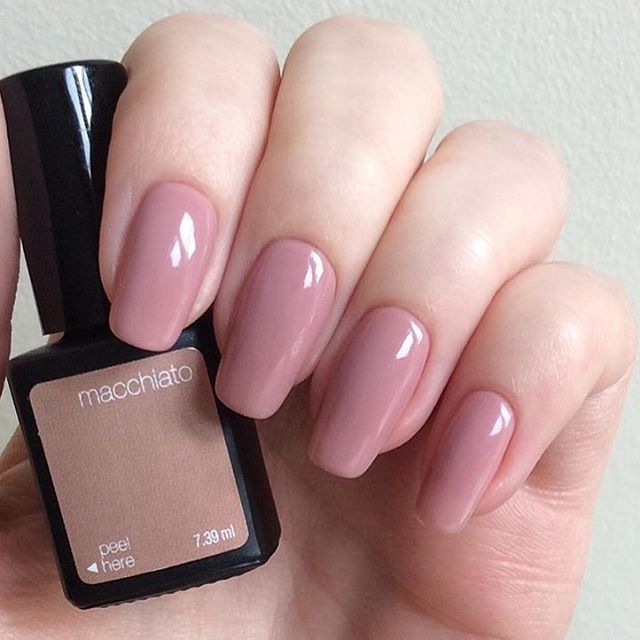 We give this SensatioNail #gelmani a 10! Get this 'Macchiato' color here! → SensatioNail.com