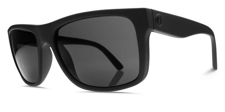 Electric Swingarm Gloss Black M1 Grey Polarized Sunglasses EE12901642