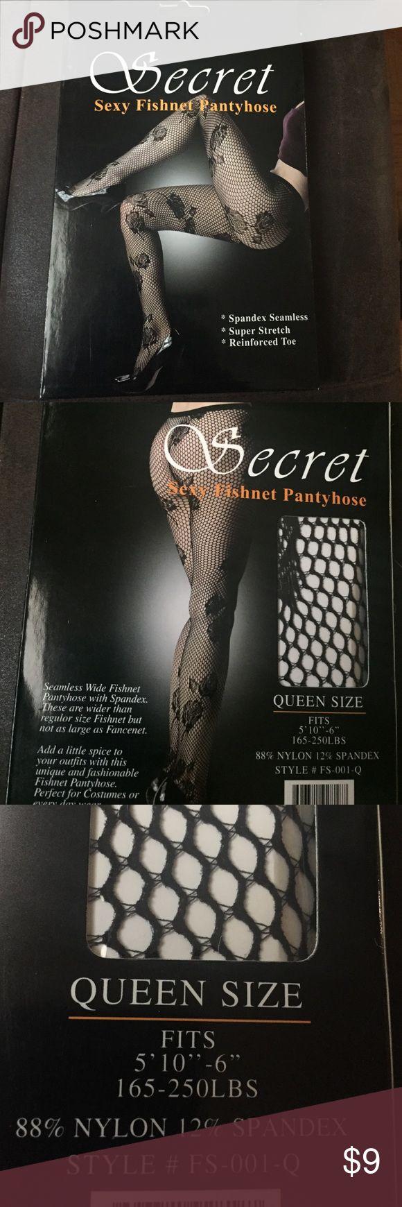 Sexy fishnet pantyhose Brand-new Secret Accessories Hosiery & Socks