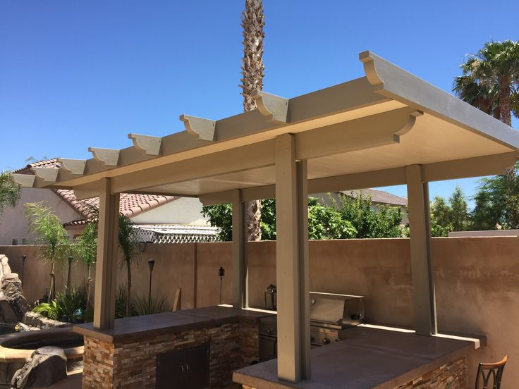 9 best Patio cover alumawood diy before and after By ...