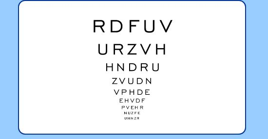 Here's everything you've been wanting to know about the letter chart that's used during #eyeexams. http://www.allaboutvision.com/eye-test/