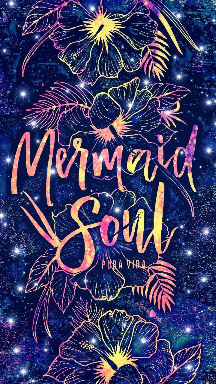Mermaid Soul Galaxy Wallpaper Mermaid artwork, Mermaid