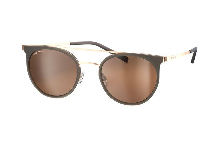 Marc O'Polo 505068 36 Sonnenbrille in grau mattgold matt