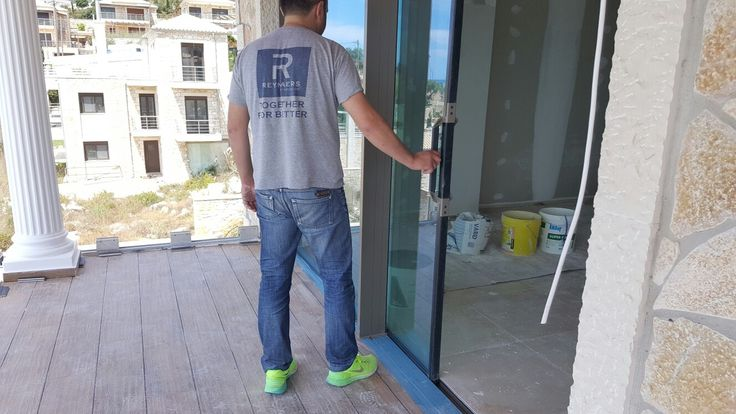 Sivota Project by Simpas  System: Hi finity sliding doors with double glazing