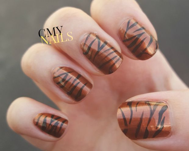 Best 25+ Tiger stripe nails ideas on Pinterest | Tiger ...