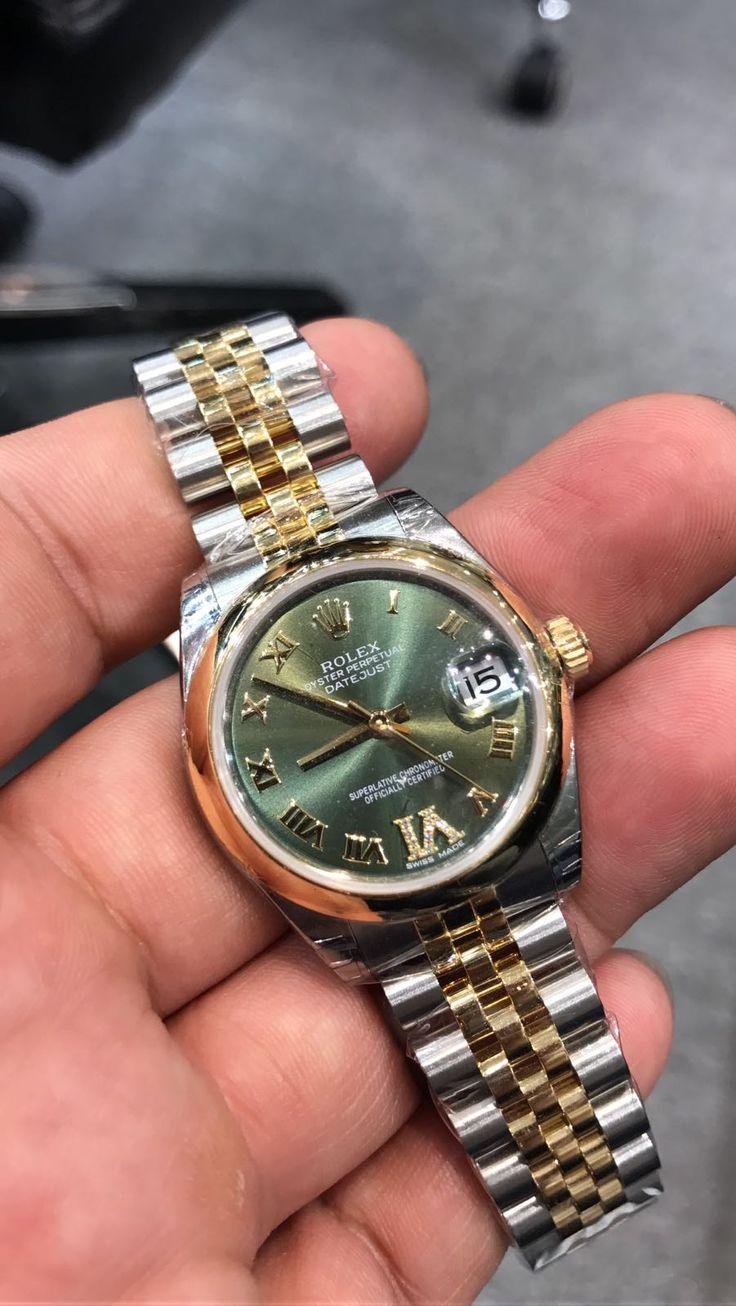 Rolex [NEW] Datejust 31mm Ladies 178243 Green Dial Watch   Price On Request!!   #rolex #rolexdatejust #rolex_datejust #rolexdatejustLadies #rolex_datejust_Ladies #Rolex178243 #178243Green #178243_Green #Rolex178243Green# Rolex_178243_Green