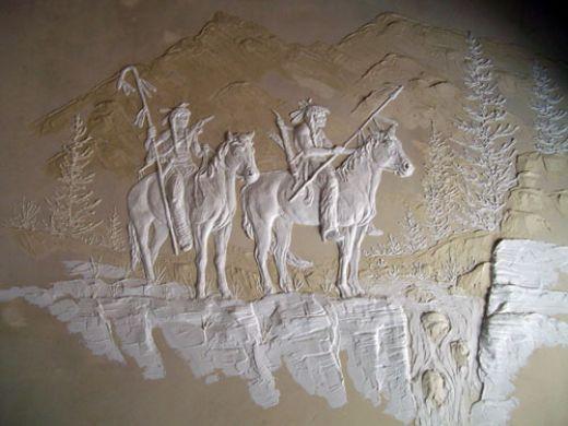 Best Plaster Sculptures Images On Pinterest Plaster Art - Artist uses drywall to create extraordinary sculptures