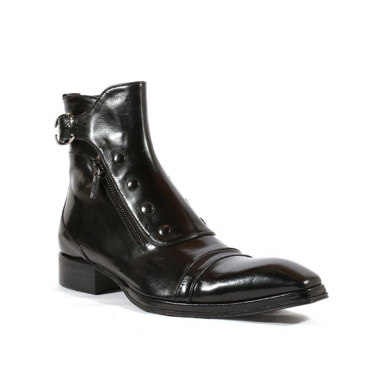 €453.62 Jo Ghost Italian Mens Shoes Montalcino Nero x Plato Black Leather Boots (JG2103) https://www.dellamoda.com/Jo-Ghost-Italian-Mens-Shoes-Montalcino-Nero-x-Plato-Black-Leather-Boots-JG2103.html