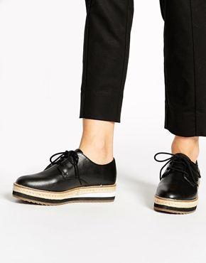 Enlarge ALDO Foto Black Flatform Shoes