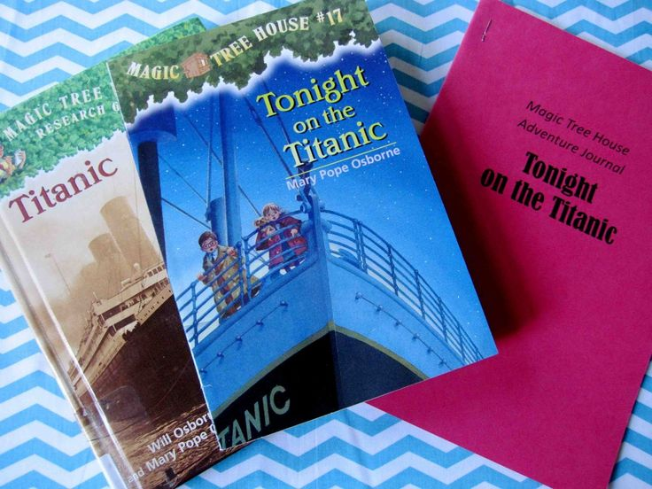 Author Of Magic Treehouse Books Part - 29: Magic Tree House Adventures: Tonight On The Titanic. Activities And Lessons  Based On The