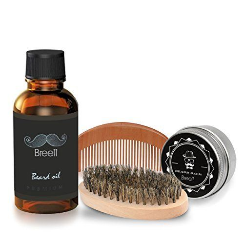 Kit Cuidado de Barba 4 pcs,Breett Cepillo Para Barba, Peine Para Barba, Aceite Para Barba 30mL,Balsamo Barba 30g #Cuidado #Barba #pcs,Breett #Cepillo #Para #Barba, #Peine #Aceite #mL,Balsamo
