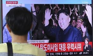 US would welcome North Korea talks, says Tillerson in contrast with Trump | World news | The Guardian