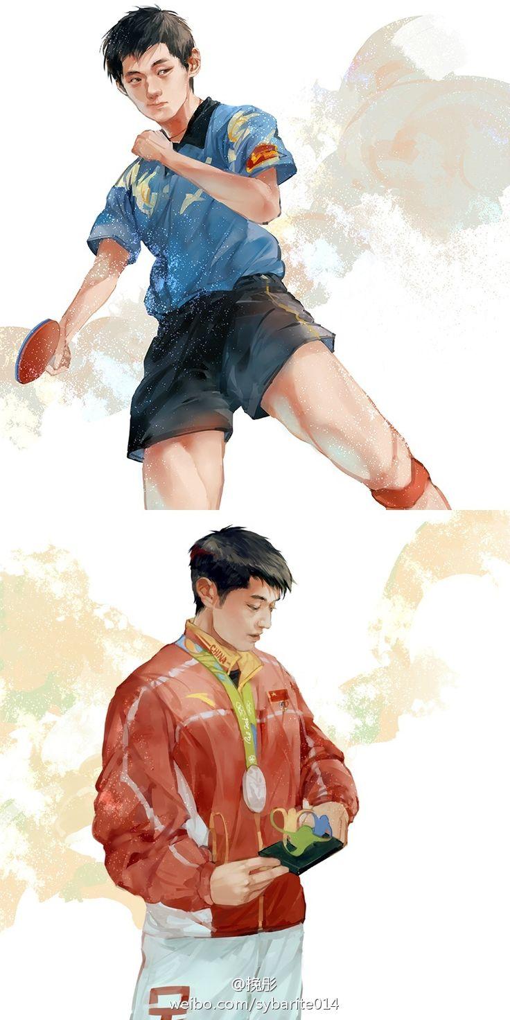 张继科 【Zhang Jike】❤️ -Zhang Jike is one of the famous table tennis player in the world.