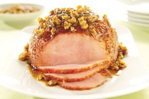 Ham holidays are over :) but we certainly don't have to wait to enjoy this suggested walnut glaze.   Ham with Walnut Glaze - click on picture for recipe!