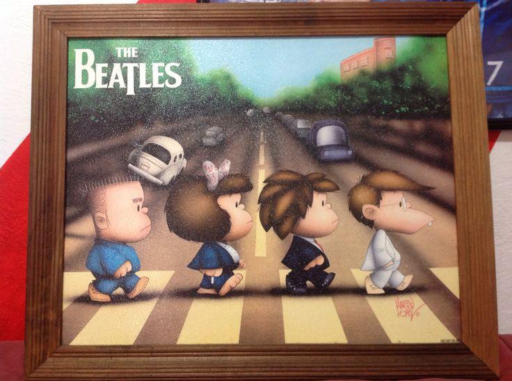Cuadro Mafalda Beatles