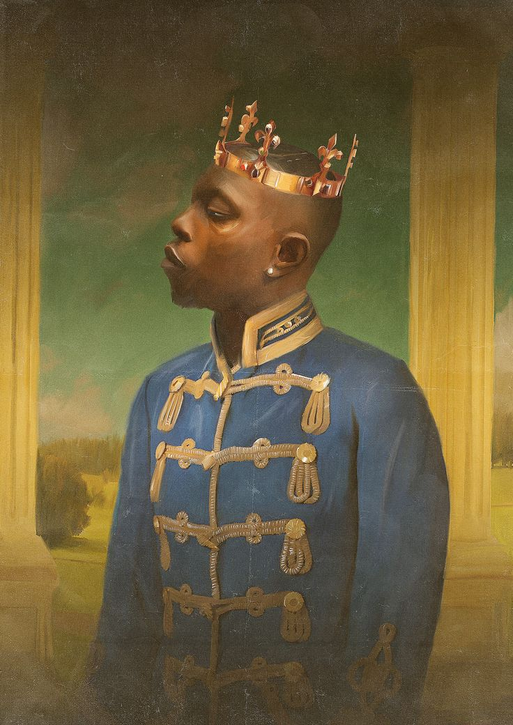 "U.K. artist Reuben Dangoor paints grime rappers to look like British nobility - The Internet is still obsessing over Drake's ""Hotline Bling"" video, but if you ask Drake himself what his current obsessions are, he'd probably mention grime, a U.K.-born genre that owes equal debts to hip-hop, dancehall, drum and bass, and late 1990s ringtones"