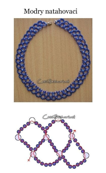 Free Necklace Pattern: