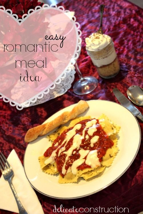 Simple And Affordable Romantic Dinner For Two