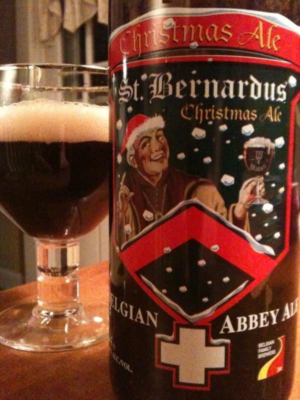 St. Bernardus Christmas Ale....This yummy Belgian Strong Dark Ale is always on my Xmas list! #Beer