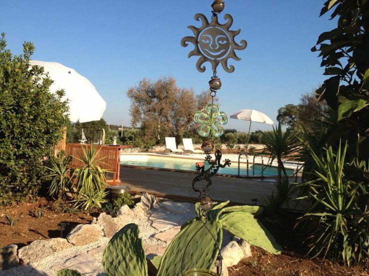 La piscina dei Trulli Colarossa