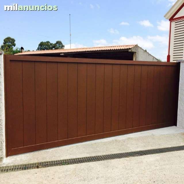 Portales para su casa automaticos todo en puertas - Puertas de hierro para exterior ...