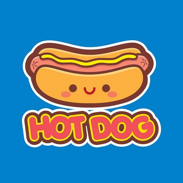 It's National Hot Dog Day! Kawaii Hot Dog T-Shirt | Flickr - Photo Sharing!